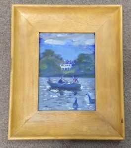 Andy Parker 'Boating Pond' 1