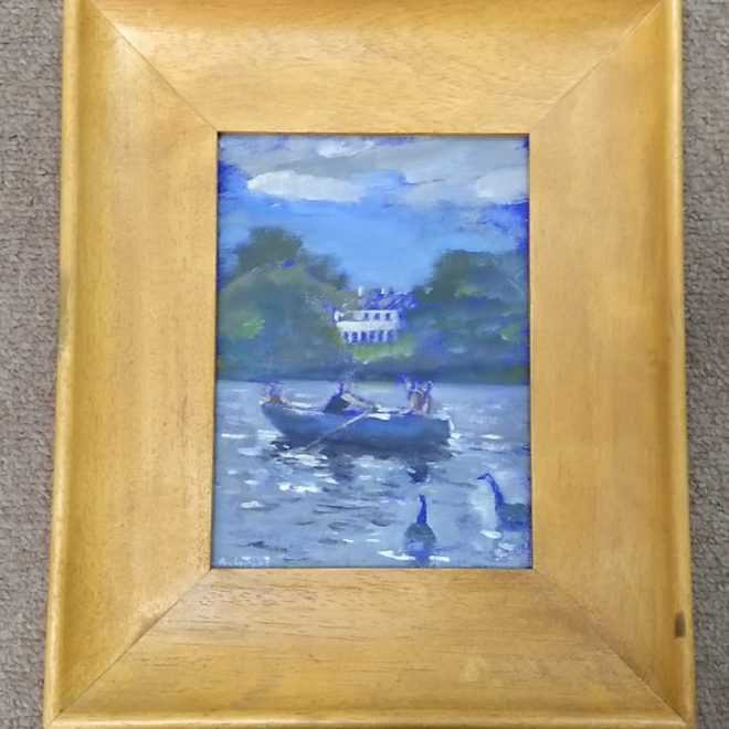 Andy Parker 'Boating Pond'