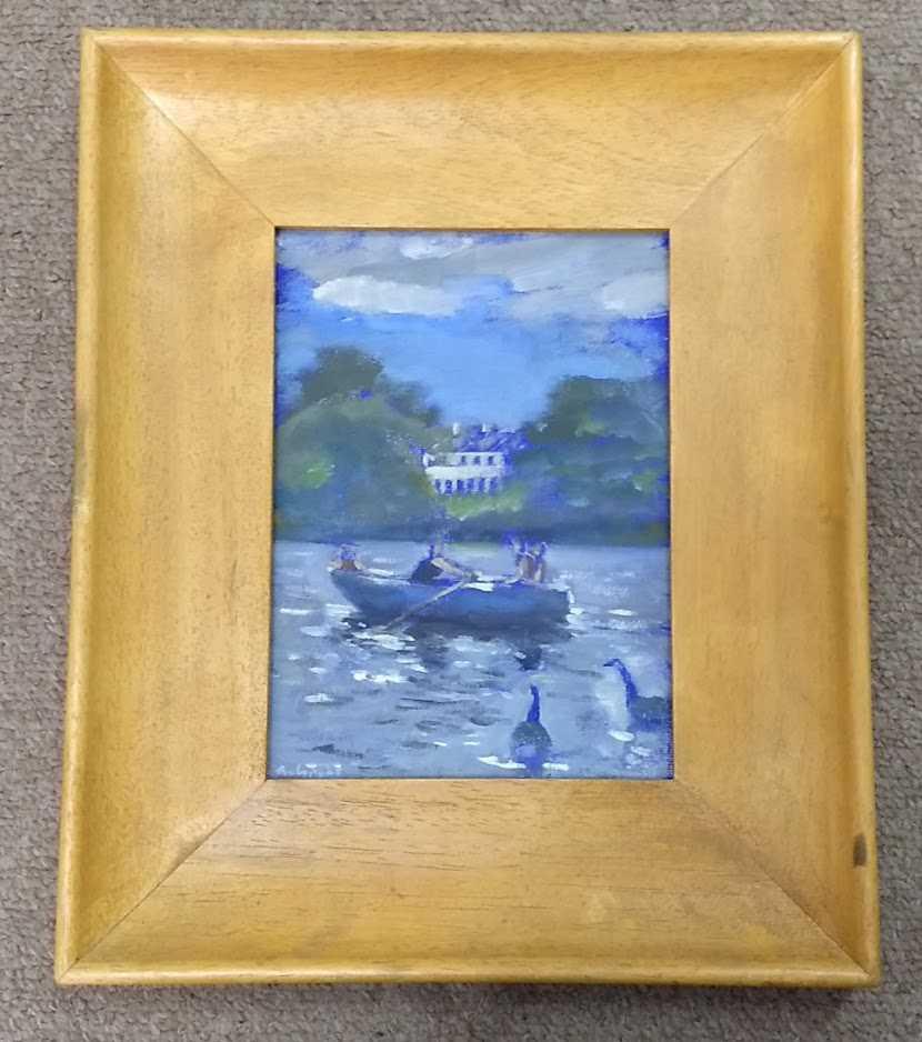Andy Parker 'Boating Pond'