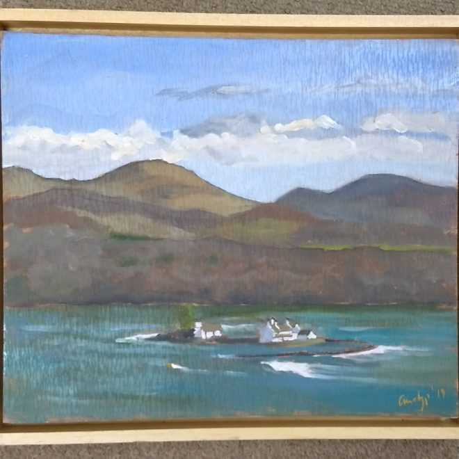 Andy Parker 'Fish Trapping in Menai'