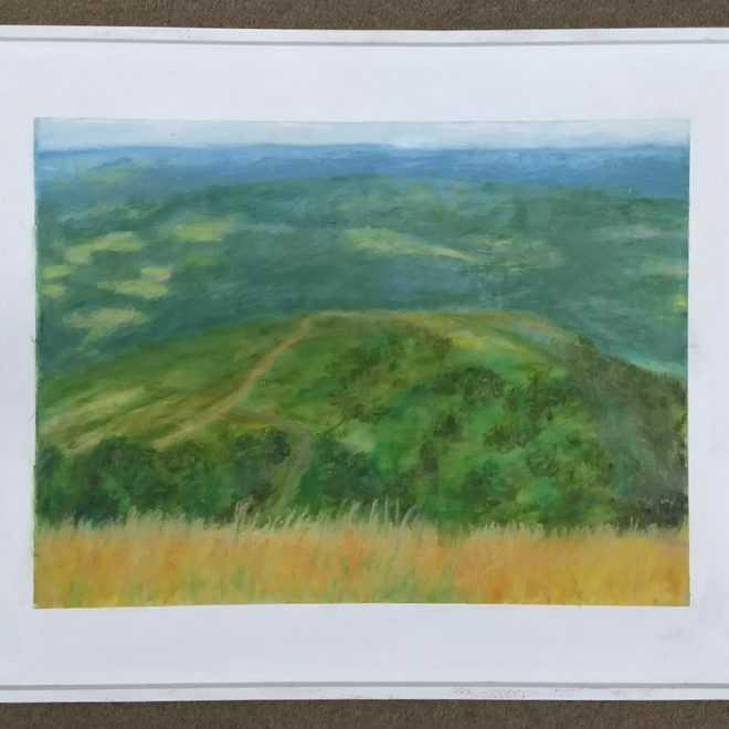 David E Jeffreys 'Atmosphere of Malvern hills'
