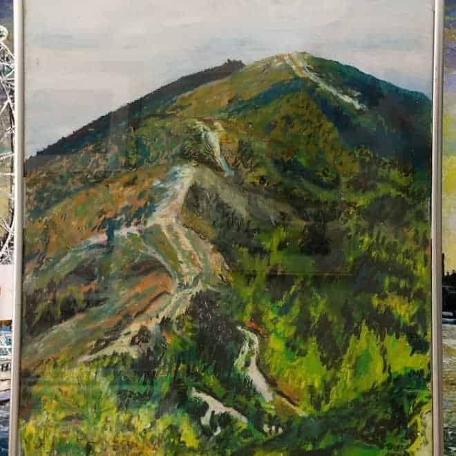 David E Jeffreys 'Towards British Camp'