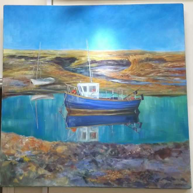 Gill Jefreys 'Burnam Overy Staith'