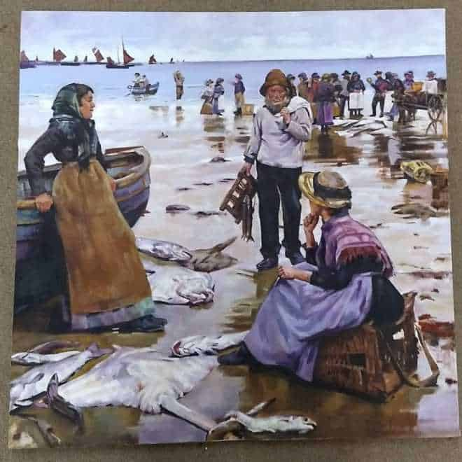 Graham Davis 'Copy of Cornish Fisher women'