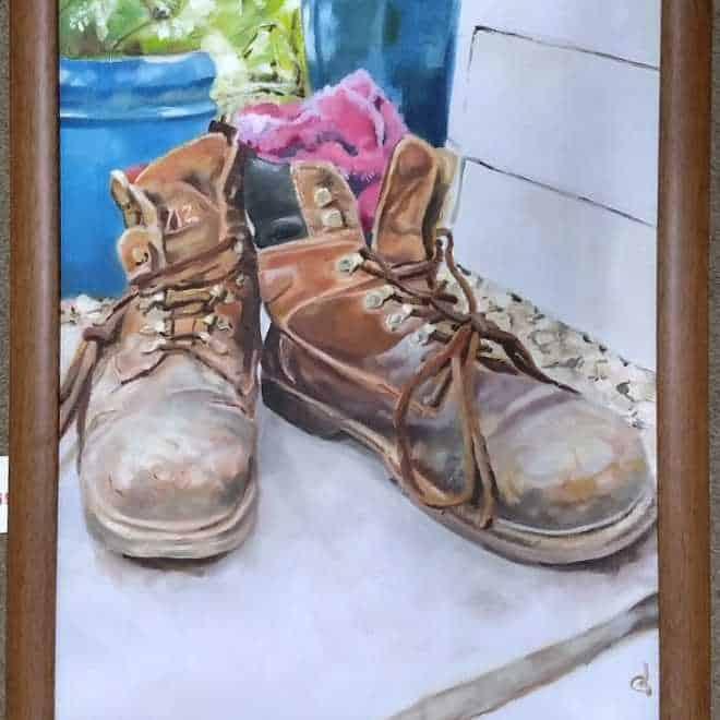 Graham Davis 'Sebb's Boots'