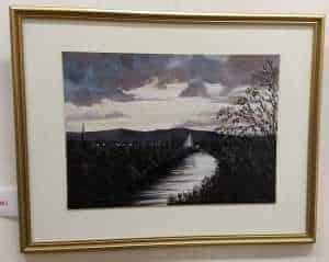 Maggie C 'Autumn Sunset over River' 1
