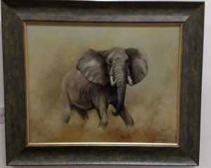 Mark Smallman 'Bull Elephant' 1