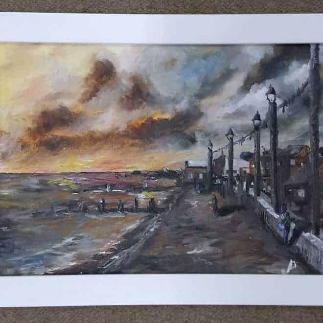 Paul Ward 'Setting Sun'