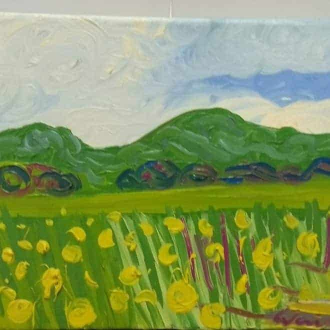 Kirsty Wain 'Wheat field near Guarlford IV'