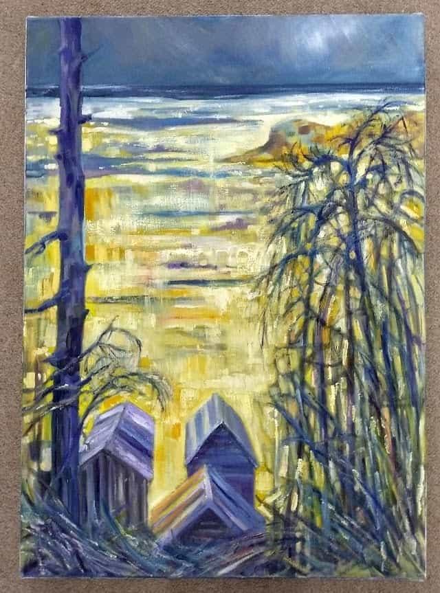 Gill Jeffreys 'Holkham Bay, Norfolk'