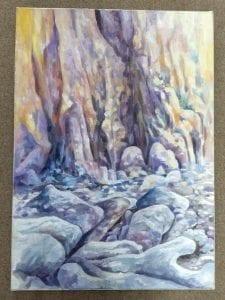 Gill Jeffreys 'Hunstanton Cliffs, Norfolk' 1