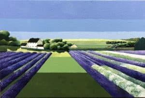 Joe Walton Lavender Fields Snowshill