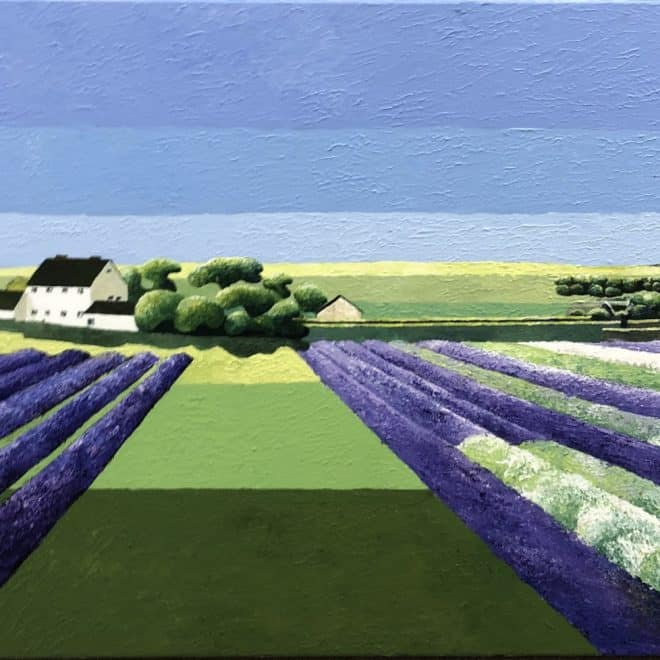 Joe Walton Lavender Fields Snowshill