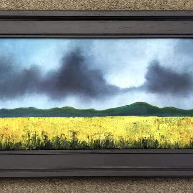 Wayne Janisch 'Storm approaching Malvern'