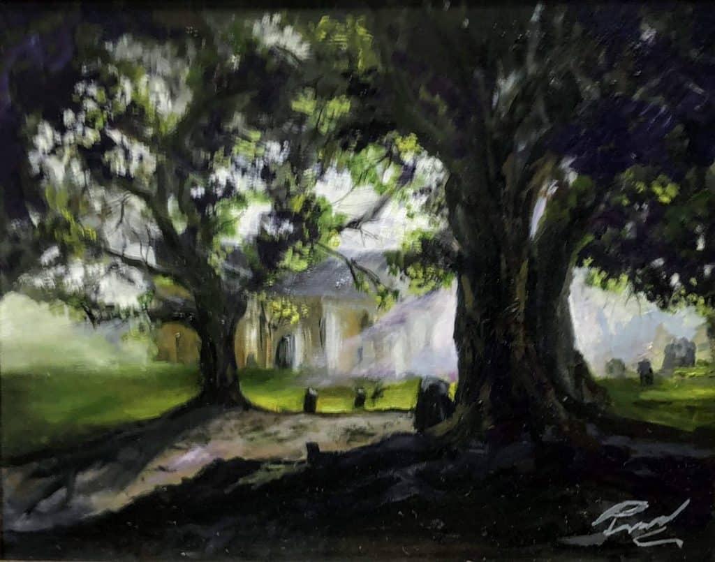 Paul Ward 'Malvern at Dusk'