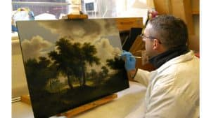 oil-painting-restorer-Alan-Brown