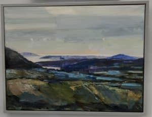 Towards Bardsey Island by Sue Cawley